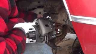 69 Ford Galaxie Disc Brake Swap Part 2: How To Change A Spindle.