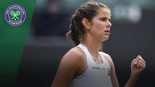 Julia Goerges reaches first Grand Slam semi-final | Wimbledon 2018