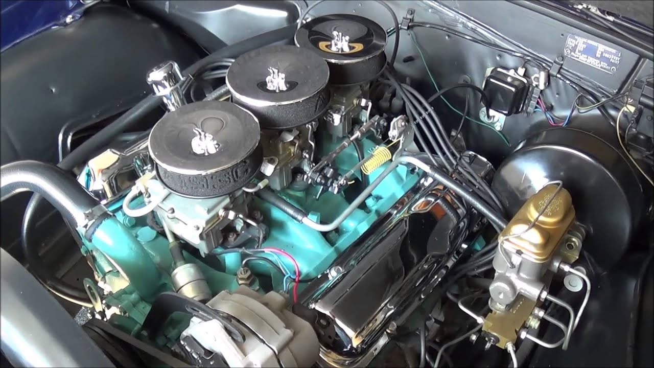 1964 gto engine comparment 389 tri power youtube 67 GTO Power Steering Engine 67 GTO Interior
