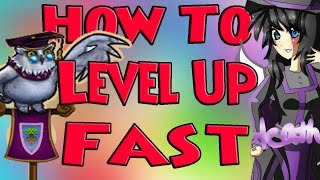 Wizard101 How To Level Up Fast! Secrets Revealed! How To Quest Fast! Tips and Tricks!