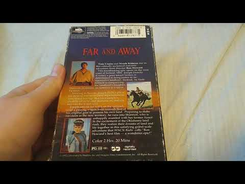 Download Far and Away (1992): VHS Review