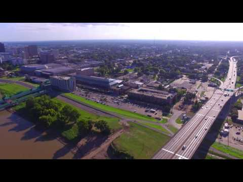 Drone video over Mobile  Alabama