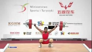 ASKARI Majid 2s 132 kg cat. 62 World Weightlifting Championship 2013