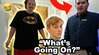 WE PRANKED THE HOTEL EMPLOYEES!!