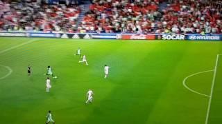 البرتغال تخطف هدفا في كرواتيا  بالشوط الرابع
