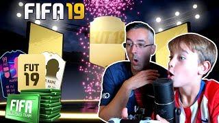 ABRIENDO MIS PRIMEROS SOBRES DE FIFA 19