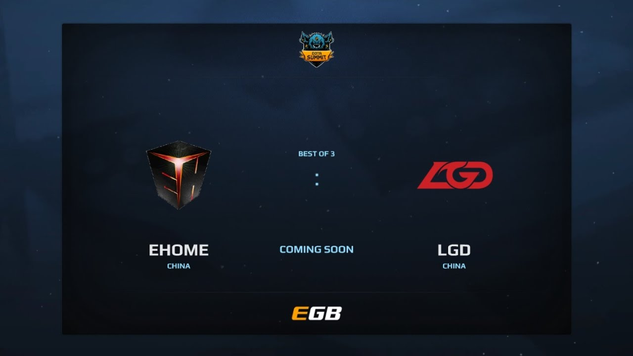 EHOME vs LGD Gaming, Game 1, Dota Summit 7, CN Qualifier