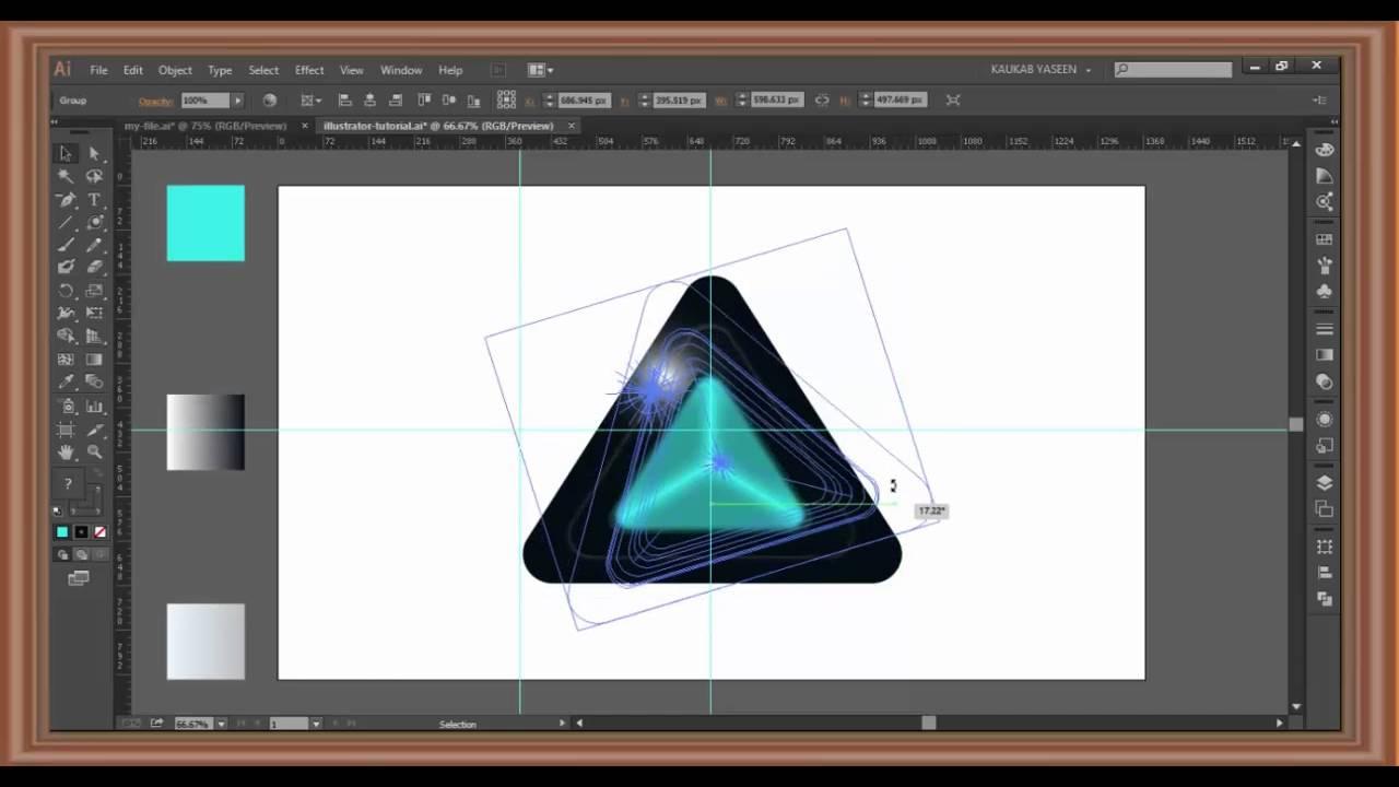 Hướng dẫn thiết kế logo bằng AI (illustrator) 1