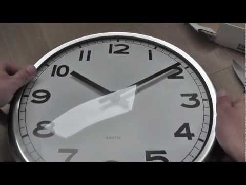 ce6bac698 IKEA Pugg wall clock - YouTube