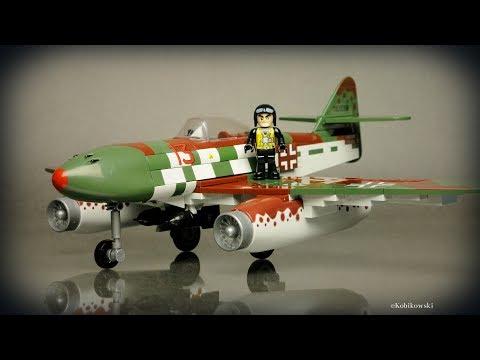 COBI Messerschmitt Me 262A (5543) - recenzja