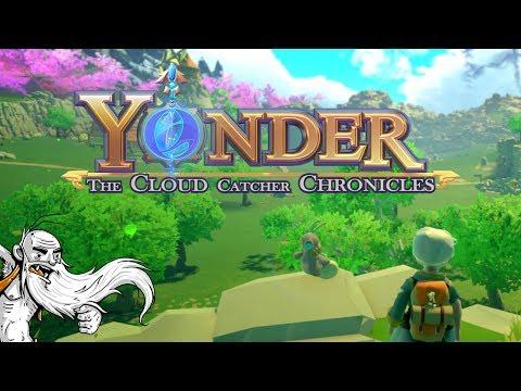 "Yonder Gameplay - ""A CUTESY WOOTSY FARMING GAME!!!""  - Let's Play Walkthrough"