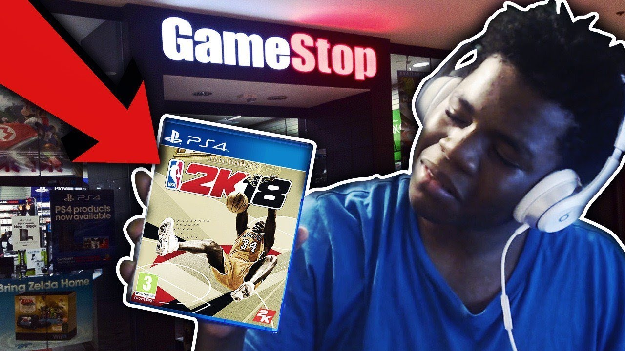 CALLING GAMESTOP TO FINESSE NBA 2K18 EARLY! DID IT WORK? FUNNY ENDING MUST  SEE