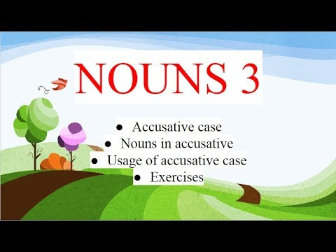 Albanian for beginners (accusative case of nouns - part 1)