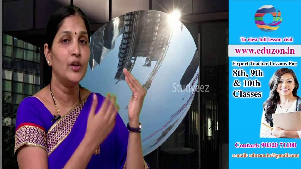 Reflection of light by different surfaces - 10th class Science - YouTube