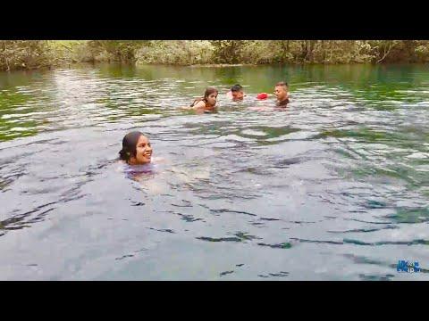 RICO CHAPUZON EN EL MANANTIAL DE SAYAXCHÉ GUATEMALA 20/26