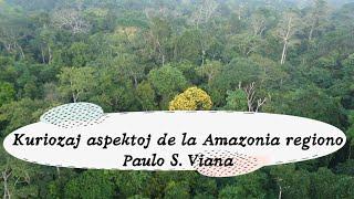 """""""Kuriozaj aspektoj de la Amazonia regiono"""" Paulo S Viana – Prelego 16ª de Julio 15h UTC-3 # 19hUTC+1"""