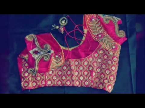 Blouse neck designs, indian saree blouse, Blouse back neck cutting images clip15