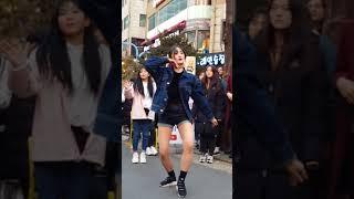 2018.2.18&걷고싶은거리&홍대&공차앞&여성댄스팀&Diana(희정)&by큰별