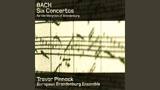 Brandenburg Concerto No. 1 in F Major, BWV 1046: I. [Allegro]