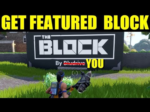 Fortnite - How To Submit A Block Creation To Epic Games (get Your Map On The Block)