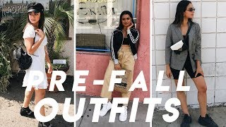 HOW TO STYLE SUMMER CLOTHES FOR  FALL   OUTFITS