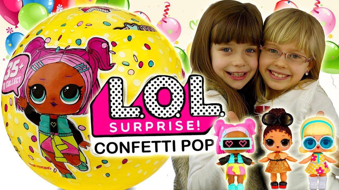 LOL Surprise Confetti POP • Nowość!! • Otwieranie Kul • openbox