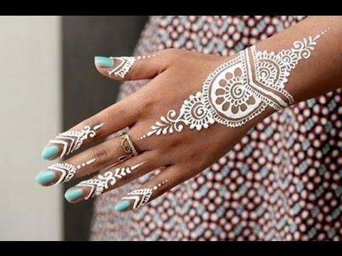 Inspirasi Henna Putih Bikin Kamu Makin Cantik Di Hari