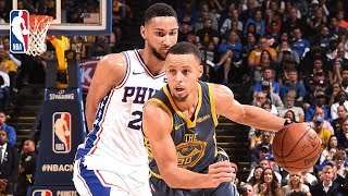 Full Game Recap: 76ers vs Warriors | Embiid & Simmons Shine In Oracle