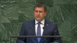 🇨🇿 Czech Republic - Deputy Prime Minister Addresses General Debate, 73rd Session