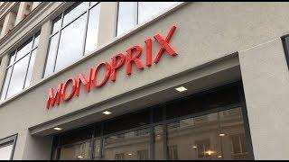 Supermercado MONOPRIX em Paris