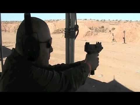 SHOT Show 2012: Umarex/IWI UZI .22 LR Pistol