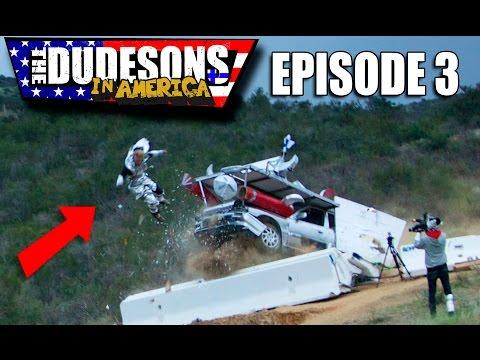 JUKKA BADLY INJURED!! - Dudesons In America Episode 3