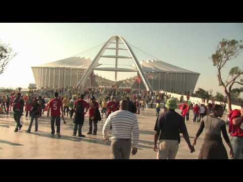FIFA WORLD CUP 2010 DURBAN BRAZIL VS PORTUGAL MOSES  MABHIDA STADIUM
