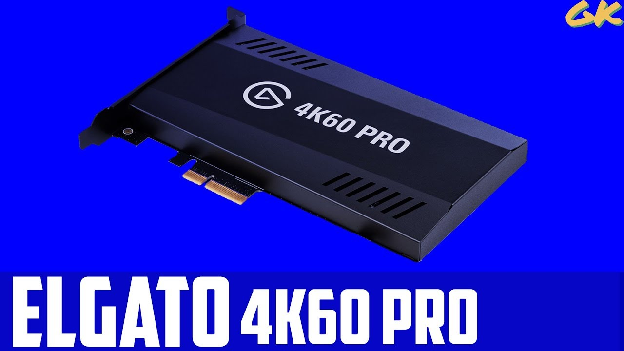 Elgato 4K60 Pro - 4K 60fps Capture Card - Xbox One X - 140 Mbps RAW  Gameplay Call of Duty : WWII