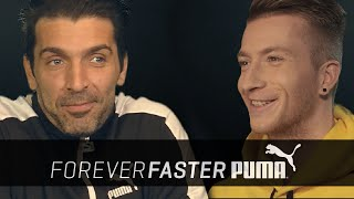 Gianluigi Buffon vs. Marco Reus | Head to Head Interview | PUMA Football