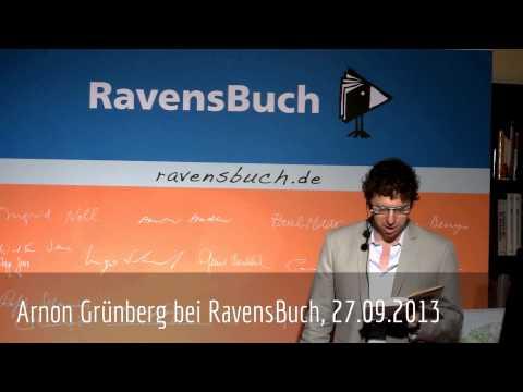 """Arnon Grünberg liest aus """"Couchsurfen"""", 27.09.2013"""