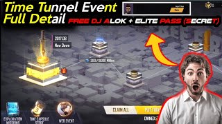 TIME TUNNEL EVENT FREE FIRE FULL DETAIL |CAPSULE STORE,EXPLORATION MISSION FreeFire | Free Dj Alok ?