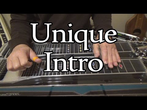 Unique Intro In C | Pedal Steel Guitar Lesson