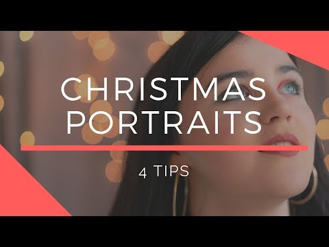 4 Tips for Shooting Christmas Portraits