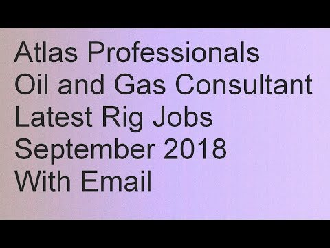 What it takes to Get Drilling Jobs For Asian and Thai Nationals | Atlas Professionals