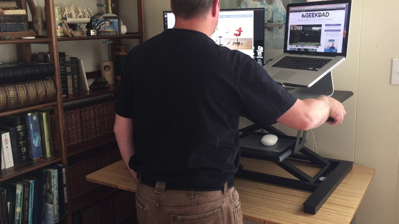 How to Up Your Work Game With Fully's Cooper Standing Desk