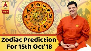 Daily Horoscope With Pawan Sinha: Here's The Prediction for 15th October, 2018 | ABP News