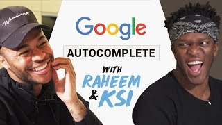 Download Raheem Sterling & KSI   Google Autocomplete   What have you been searching for!? Mp3 and Videos