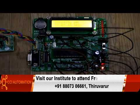 Embedded System 8051 PIC AVR ARM ARDUINO Robotics Courses Training in Mannargudi