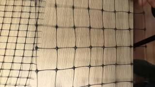 видео Пластиковая сетка для забора: преимущества забора из пластиковой садовой сетки