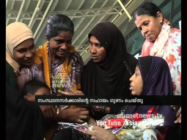 Nabeesa Beevi back to home , A tearful returnമാലിയില് കുടുങ്ങിയ നബീസാ ബീവിയെ ജന്മനാട്ടിലെത്തിച്ചു