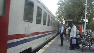 The Usak Express Arriving at  Manisa