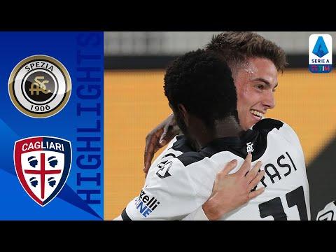 Spezia Cagliari Goals And Highlights
