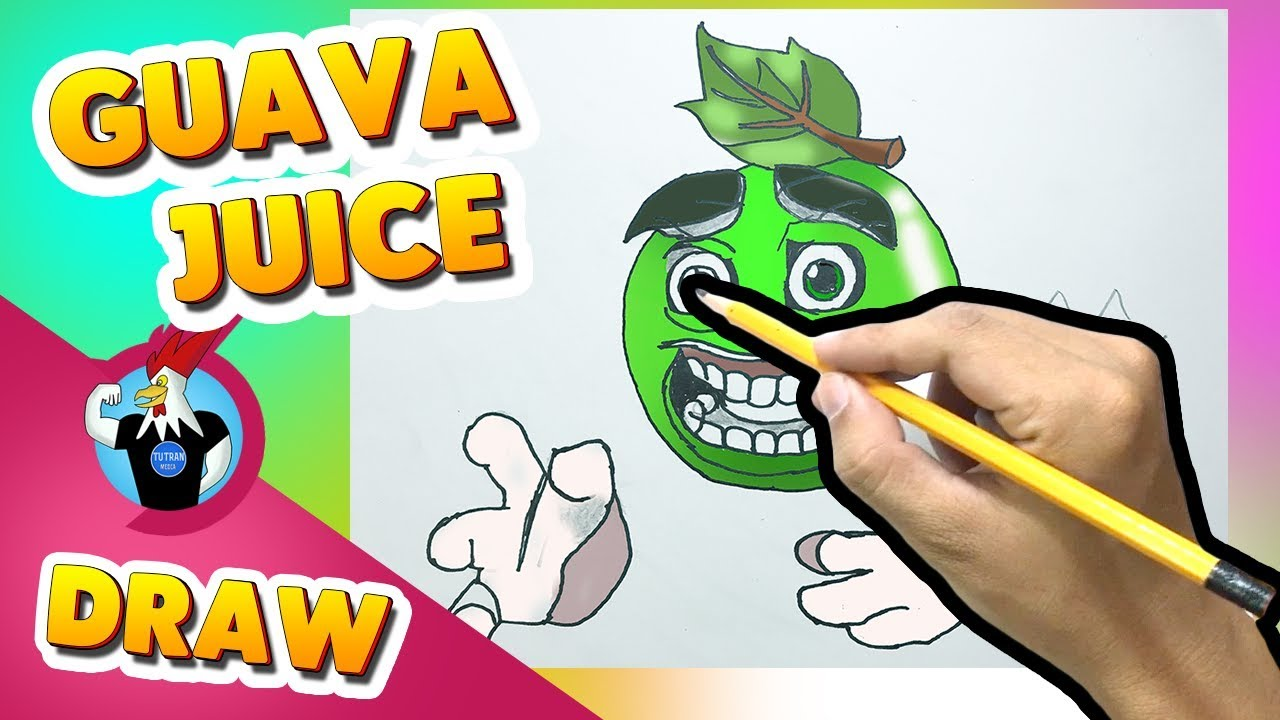 How To Draw Guava Juice Monster Legends Youtube
