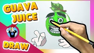 How to draw: Guava Juice - Monster Legends